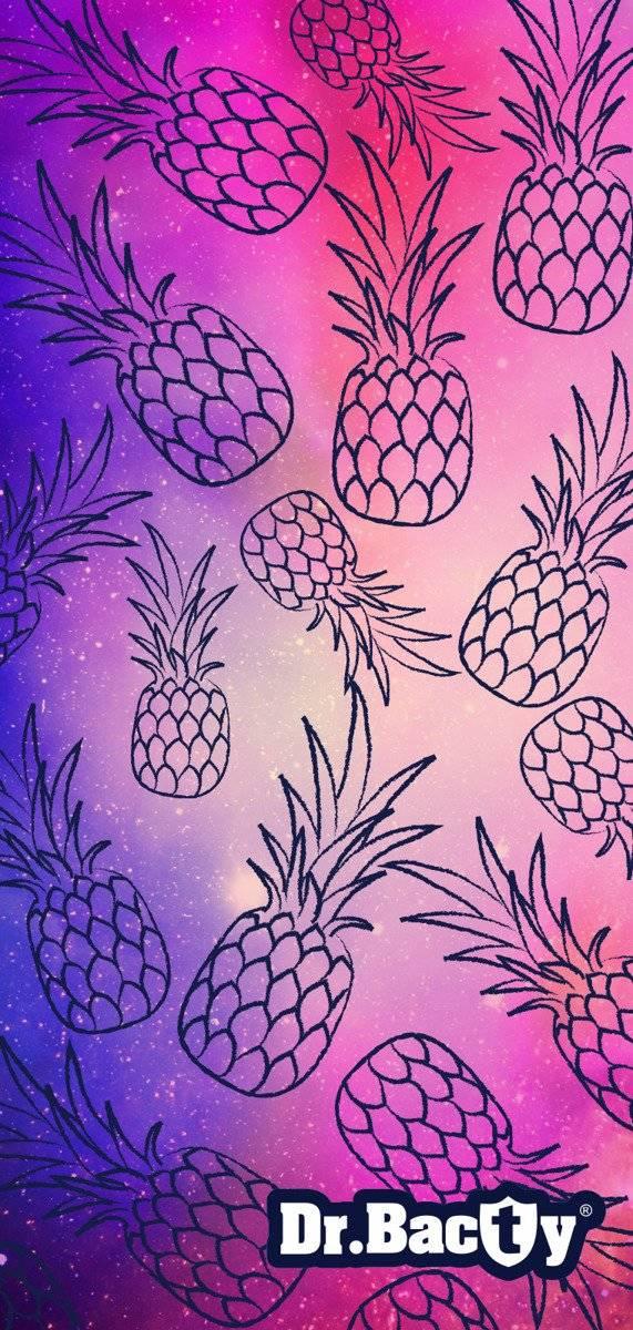 Ręcznik szybkoschnący na plażę 70x140 - Ananas