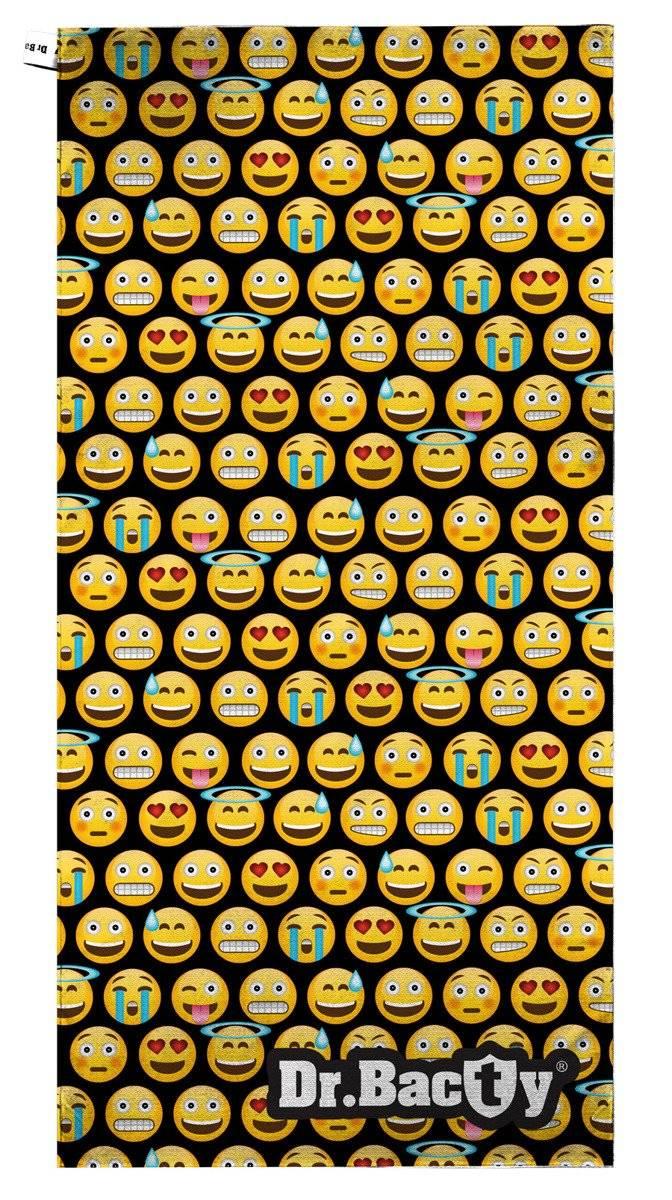 Ręcznik na basen 70x140 - Emotikons