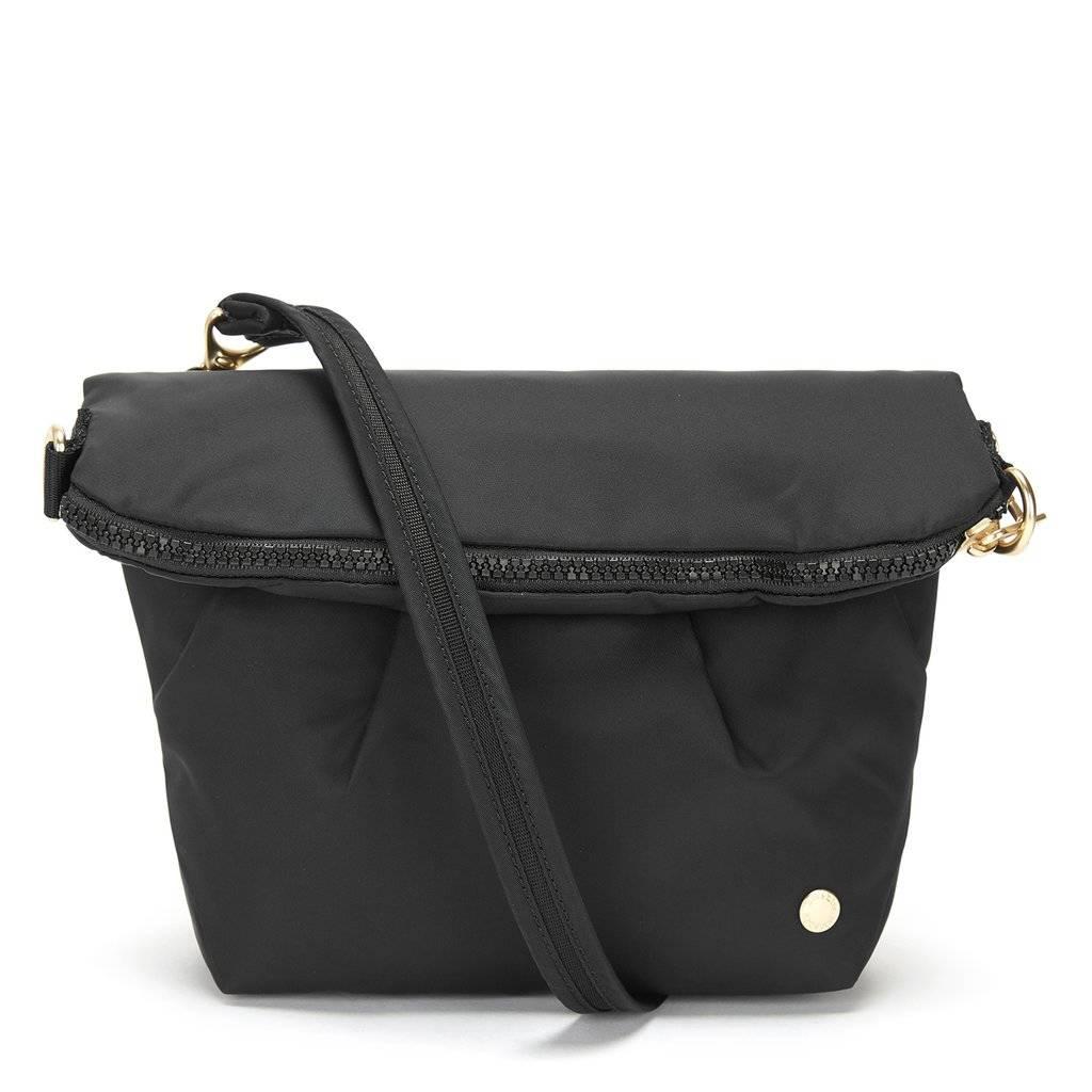 Składana torebka damska antykradzieżowa Pacsafe Citysafe CX Convertible czarny
