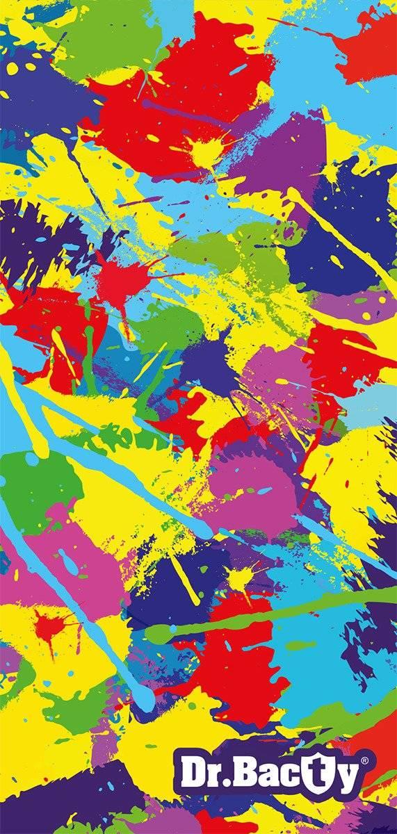 Dr.Bacty ręcznik szybkoschnący na basen 70x140 - Paint