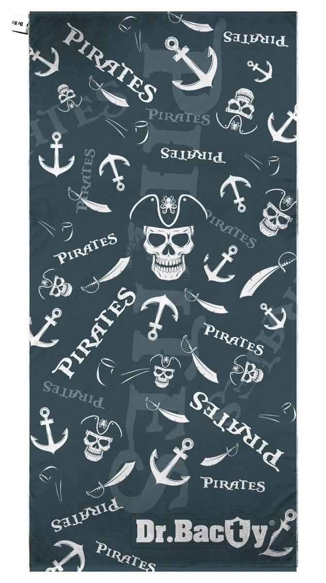 Dr.Bacty ręcznik szybkoschnący na basen 70x140 - Piraci