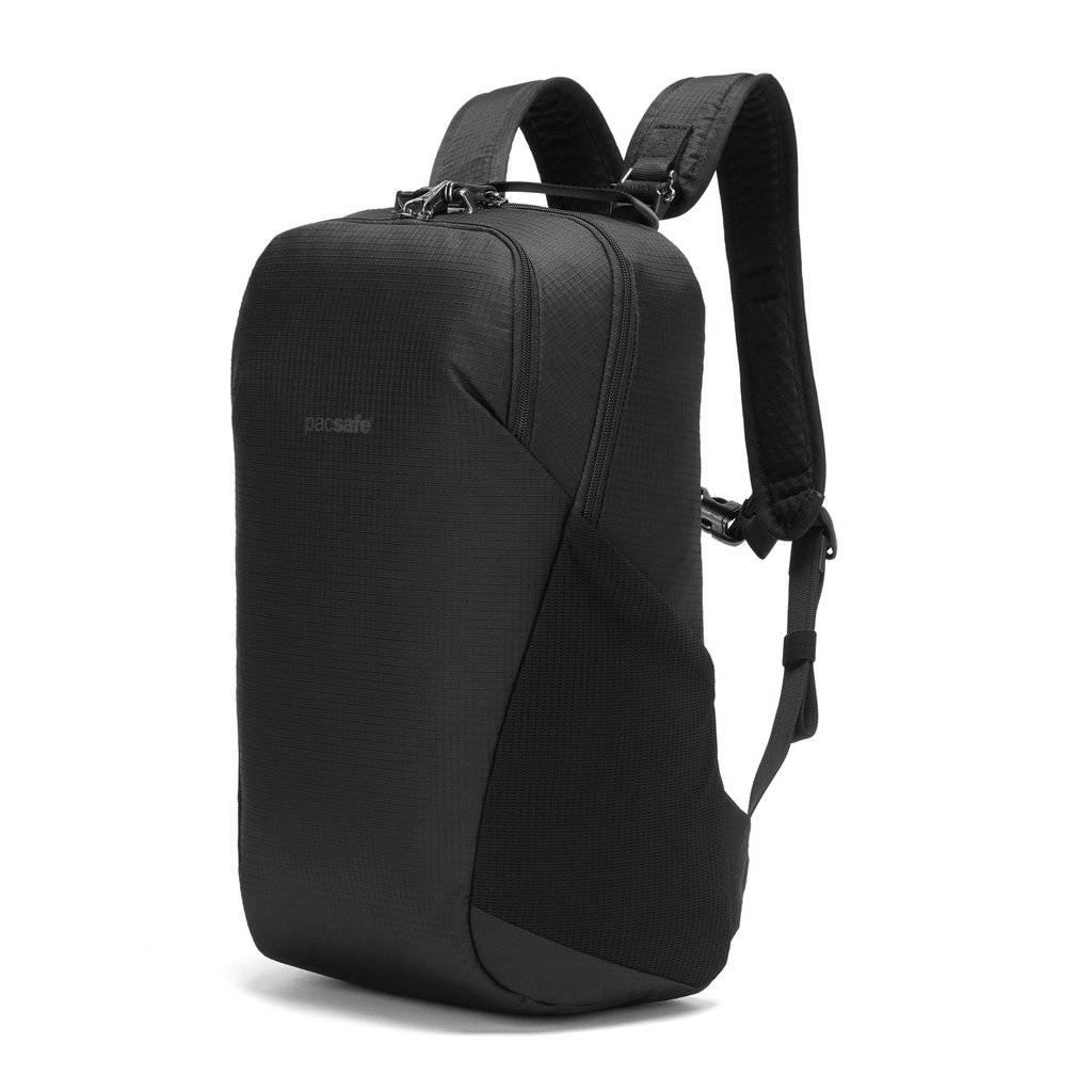Plecak wycieczkowy antykradzieżowy 20l - Pacsafe Vibe 20 - czarny