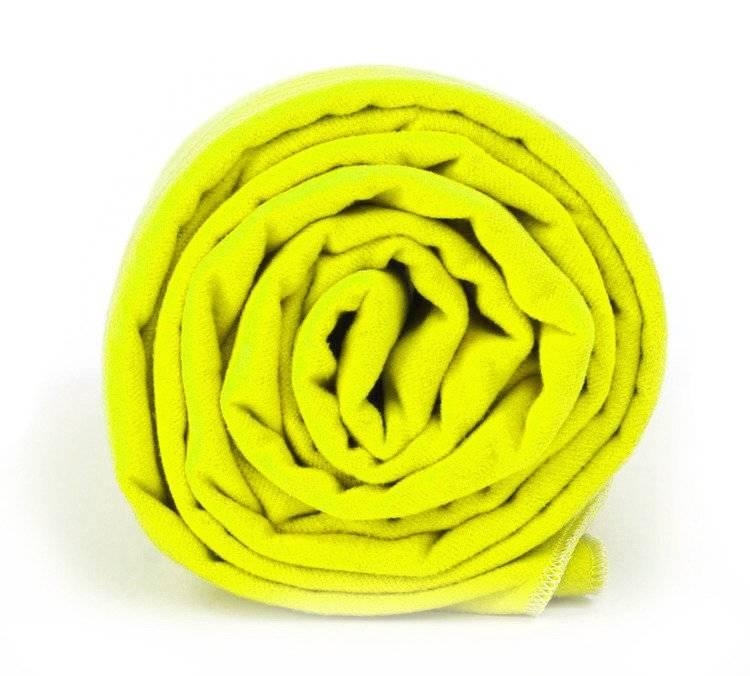 Dr. Bacty ręcznik szybkoschnący Basic 70x140 -neon żółty