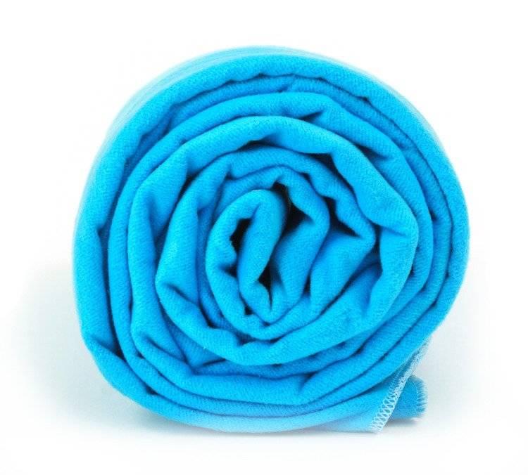 Dr.BActy ręcznik szybkoschnący Basic 70x140 - niebieski