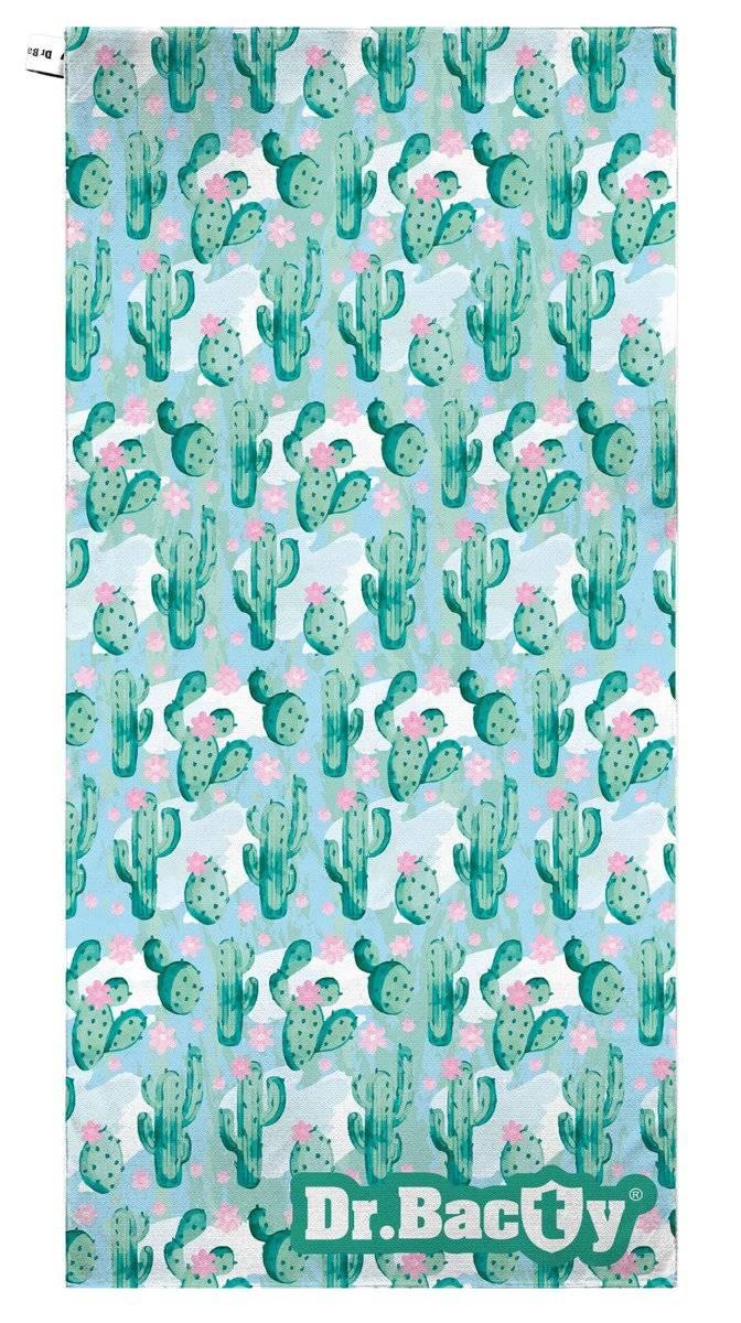 Ręcznik plażowy 70x140 - Kaktus zielony