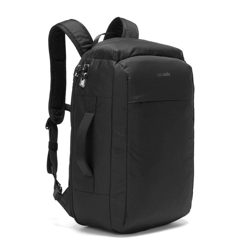 2w1 Torbo-plecak z zabezpieczeniami antykradzieżowymi Pacsafe Vibe28 Jet Balck