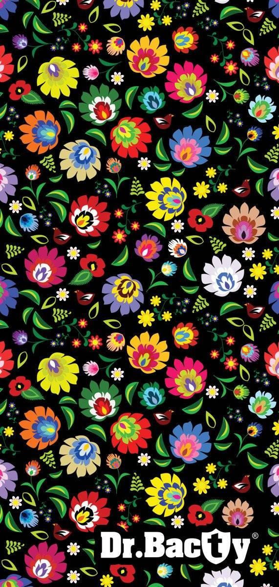 Ręcznik szybkoschnący 70x140 Dr. Bacty - Folk