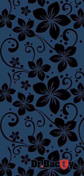 Ręcznik szybkoschnący dla dziecka 40x65 - Kwiaty